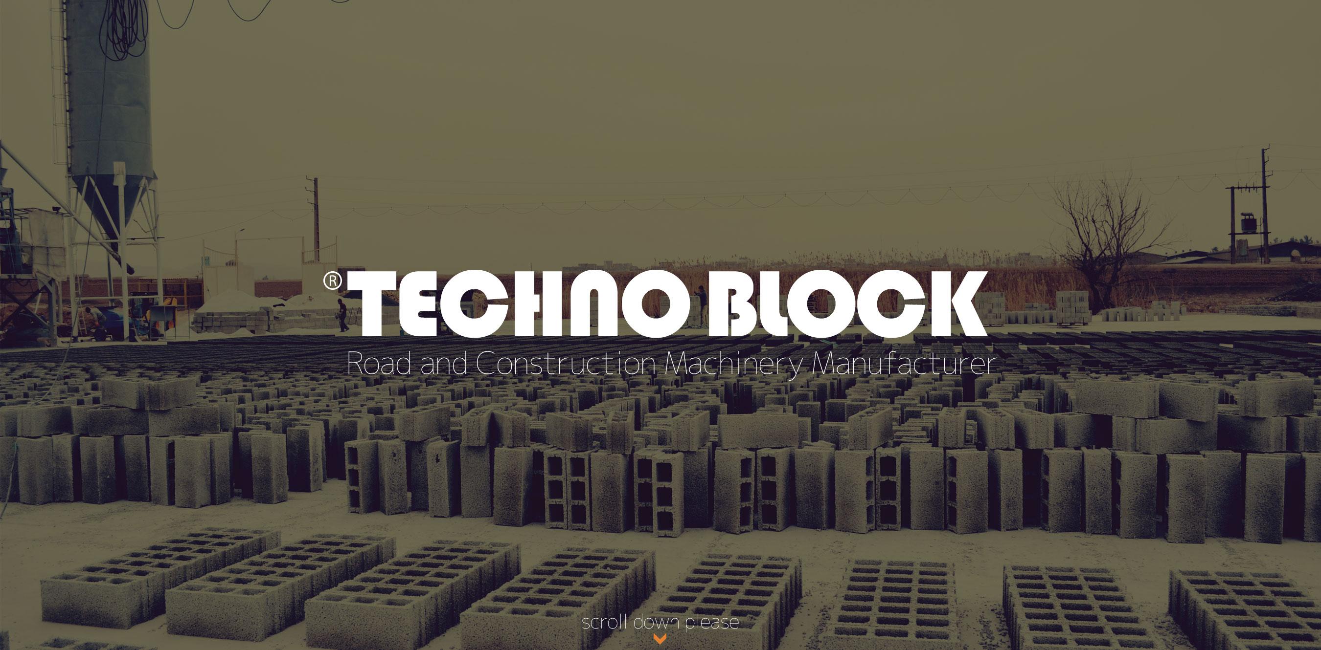 تکنوبلوک - سازنده ماشین آلات تولید قطعات بتنی ( بلوک، سنگفرش، جدول )technoblock