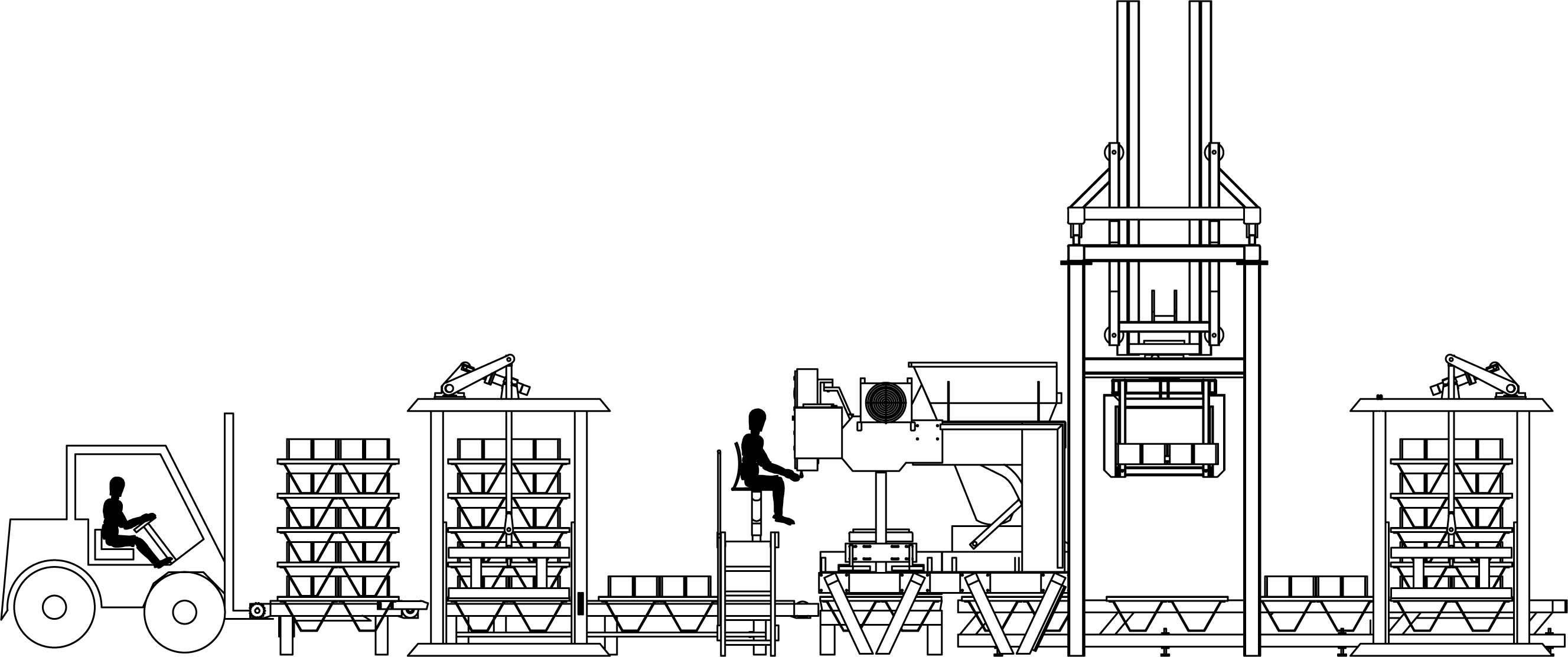 تکنوبلوک - سازنده ماشین آلات تولید قطعات بتنی ( بلوک، سنگفرش، جدول )سازنده ماشین آلات تولید قطعات بتنی ( بلوک، سنگفرش، جدول )